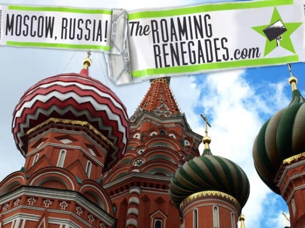 MOSCOW, Russia! An adventure into the east!