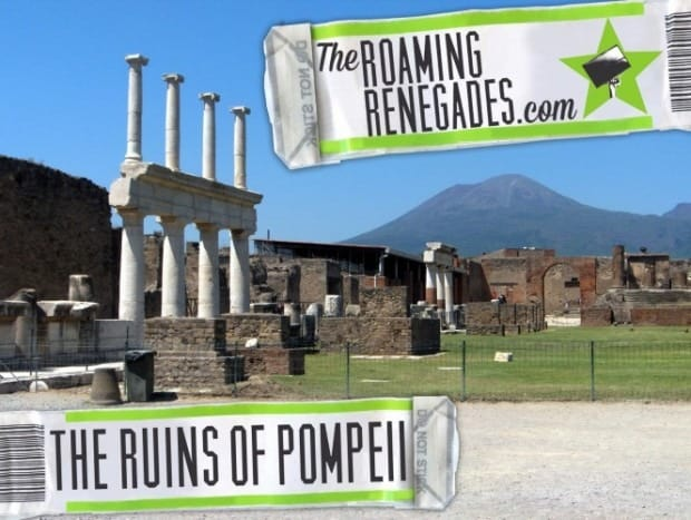 Visiting the ancient wonders of Pompeii and Herculaneum