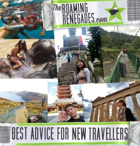 Best advice for first time Travellers/ Backpackers!