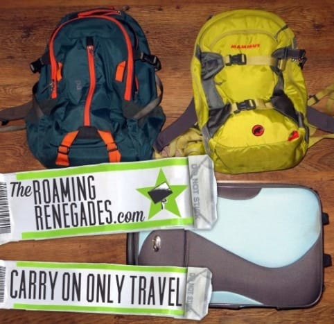 How to pack carry on only...Travel light for any length of trip