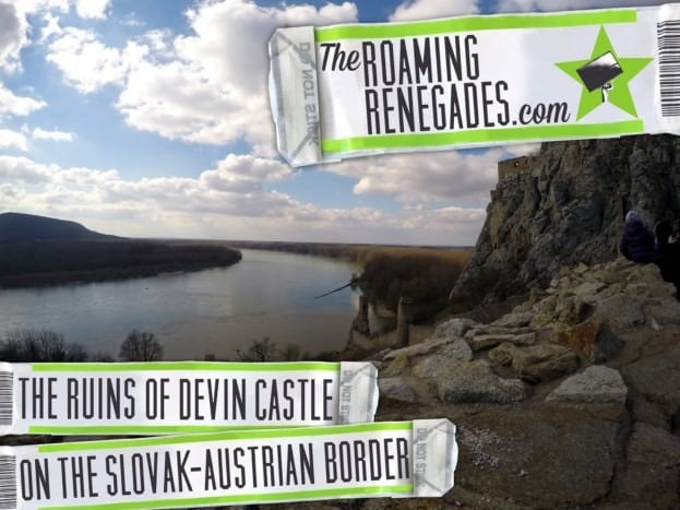 Exploring the ruins of Castle DEVIN on the Slovak/ Austria border.
