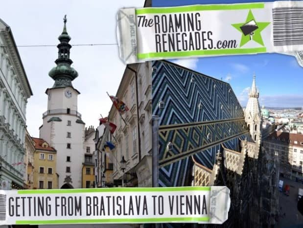 Getting from BRATISLAVA (Slovakia) to VIENNA (Austria) and back!