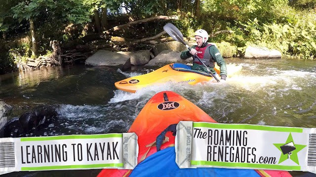 Learning to Kayak: Thrown in at the Deep End at Burrs!
