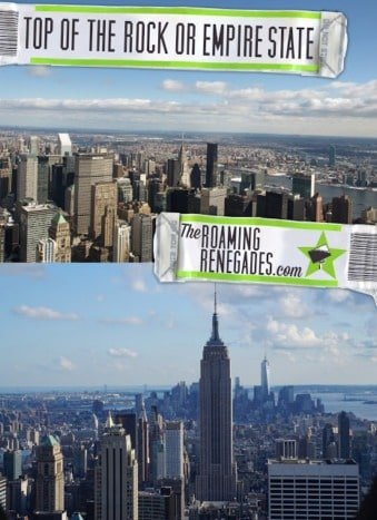 The Top of The Rock vs The Empire State Building! Which to spend your money on!