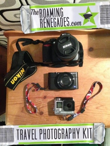 Ultimate photography kit for travellers!