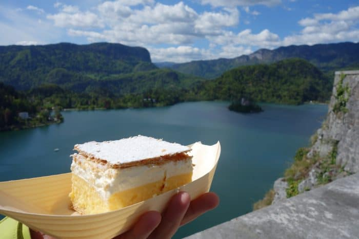 A guide to the picture perfect town of Bled, Slovenia!, bled island, monastery, church, castle, postcard, boat, tour, things to do, things to see, bike, walk, hike, bled cream cake,