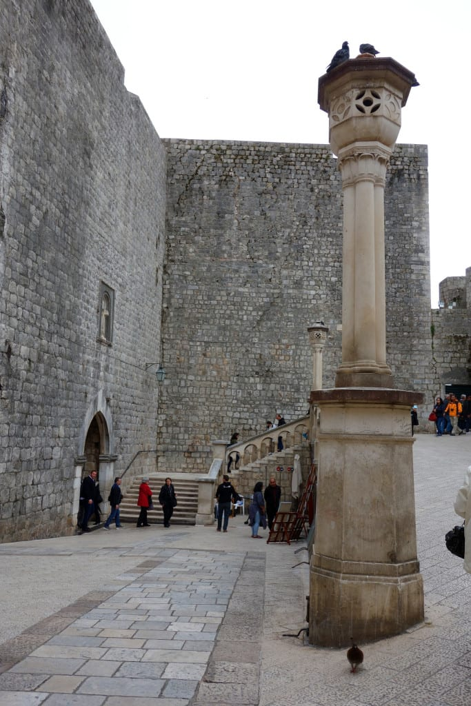 pile gate, Discovering the real King's Landing on the Dubrovnik Game Of Thrones tour!, the red keep, joffrey death, the purple wedding, walk of shame, blackwater bay, belish, sansa, cersei, jaime, tyrion, lannister, scenes, where game of thrones was filmed, filming locations,