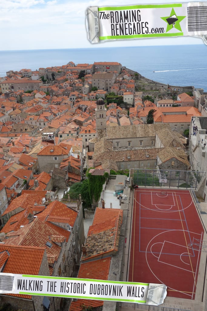 Stepping back in time and walking the Dubrovnik city walls, Croatia. > http://theroamingrenegades.com/2016/06/stepping-back-in-time-and-walking-the-dubrovnik-city-walls-croatia.html