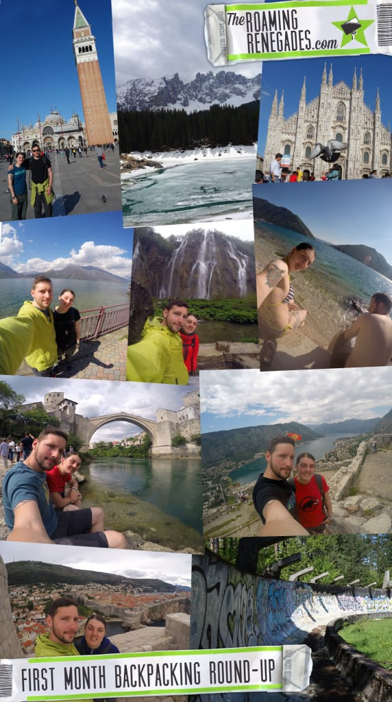 backpacking, travel, italy, montenegro, bosnia, sarajevo, serbia, experiences, long term travel, how to backpack, travel on a budget,