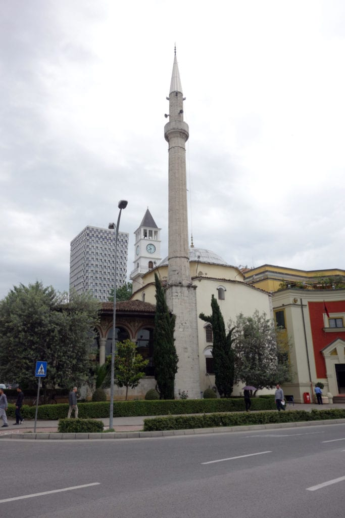 A guide to Tirana, The Albania capital that is a modern time-warp!, things to do in Tirana, bunkers, communist, history, museum, church, mosque, enver hoxha, pyramid, explore, abandoned, Skanderbeg Square, dictator, nuclear, Et'Hem Bey Mosque, tanners bridge, Resurrection of Christ Orthodox Cathedral, trip n hostel, places to stay, backpacking