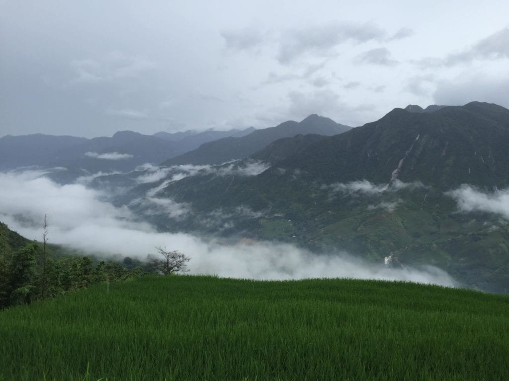 Trekking in Sapa Image-min, Canyoning in Da Lat, Snorkeling/Diving in Nha Trang, Motorbiking Song Tra Mountain in Da Nang, Exploring Caves in Phong Nha-Ke Bang, Trang An Grottoes and Hang Mua Stairs in Ninh Binh, Kayaking in Ha Long Bay, Ha Giang Motorbike Loop, Trekking in Sapa, Vietnam, adventure, explore, south east asia, GUEST POST: 26 Year old's Guide to Outdoor Activities and Adventures in Vietnam