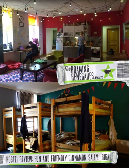 Hostel Review: Cinnamon Sally, Riga. A fun, youthful and artistic hostel in this beautiful city! Places to stay, stone roses, best hostels, accommodation, best, recommended places to stay, dorms, privates, young, fun, pub crawl, free breakfast, backpacking, backpackers, baltic, eastern europe, baltics, hostels to stay in,