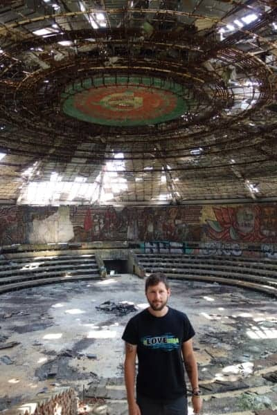 Exploring Buzludzha: The abandoned Communist headquarters of Bulgaria! (And a side trip to Shipka, shipka church, cathedral, monument, memorial, commemoration, bulgarian communist party, ottoman, turkish, war, 1981, socialism, urban, urban exploration, abandoned, time, history, hammer and sickle, mountains