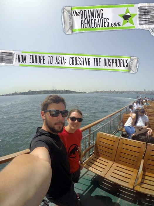From Europe to Asia: Crossing the Bosphorus > http://theroamingrenegades.com/2016/09/crossing-bosphorus-istanbul-europe-asia.html
