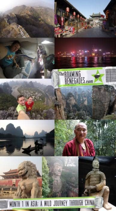 backpacking, travel, travelling, traveling, Asia, South East Asia, Beijing, The Great Wall of China, mUTIANYU, Sleeper train, Hard sleep, Hong Kong, Pingyao, Traditional, modern, what is china really like, monk, mountains, Zhangjiajie, Guilin, Yanghshou, Xingping, li river, Xian, Chengdu, Panda, Buddha, Leshan, Terracotta warriors, visa, how to backpack in china, explore, adventure