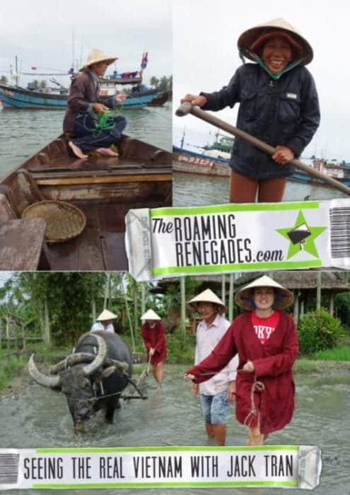 Hoi An Tour, Discovering the real Vietnam with Jack Tran Eco Tours, Hoi An, fishermen, rice paddy, rice fields, buffalo, meet real people, boat, coracle, tour, Vietnam, culture, South East Asia, Hoi an tours, tours Hoi An, traditional