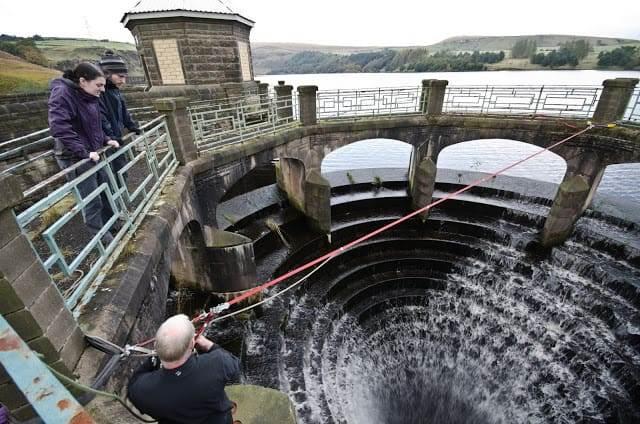 Greenbooth Reservoir. Rochdale. URBEX
