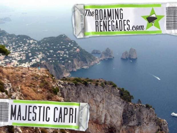 Exploring the Majestic island of Capri, Italy