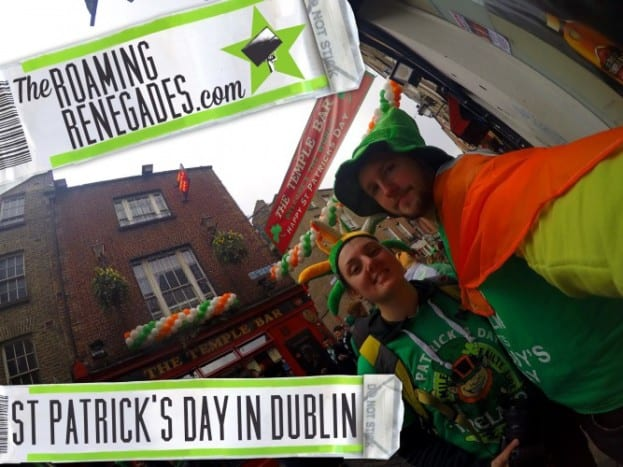 Experiencing crazy DUBLIN on St. Patrick's Day!