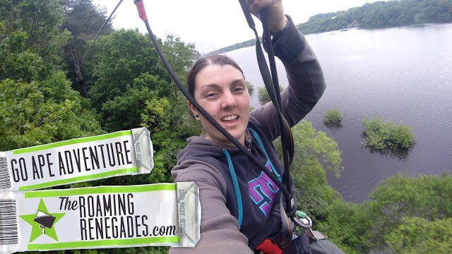 Our adrenaline filled anniversary: monkeying around at GO APE!