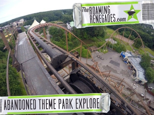 Exploring the creepy abandoned Theme Park: Camelot!
