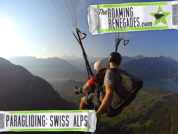 Paragliding above the most amazing alpine scenery!