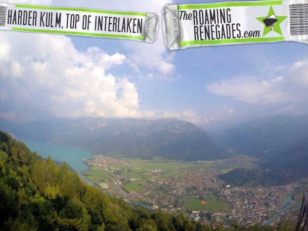 Harder Kulm; The Top of Interlaken!
