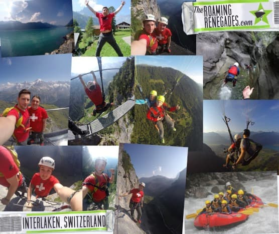 Guide to Interlaken, Switzerland. The Adventure Capital Of The World!!