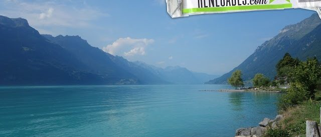 The beautiful lakes of Interlaken