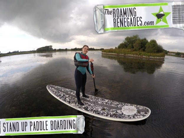Stand Up Paddleboarding in Blackpool!