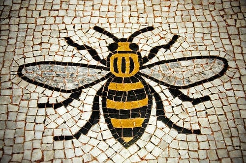 things to do in Manchester, fun things to do in Manchester, Manchester attractions, what to do in Manchester, places to visit in Manchester, days out in Manchester, Visit Manchester, Northern Soul, China Town, Chippy, This is the place, Manchester bee, Manchester bee tattoo, Manchester Bee town hall, Manchester bee mosaic, Littleborough, Fish and Chips, Grilled Cheese, Manchester, Communism, Marx, Engles, Industrial Revolution, Cottonopolis, Manchester Linen, Manchester History, red phone box, Stone Roses, The smiths, Music, Castlefield, Canal, Rochdale Canal, Northern Quarter, NQ, Bars, Graffiti, Street art, Melbourne, Laneways, Alley way, Hipster, Williamsburg, Mancunium, Viaduct, Roman ruins, Joy Division, Oasis, Elbow, Music scene, Northern Soul, Hacienda, Madchester, Canals, Greater Manchester, Pennines, Countryside, Parks, hollingworth lake, Blackstone edge, Littleborough, Pennine way, Manchester United, Manchester City, Football, Soccer, Commonwealth Games, Curry Mile, China Town, Alan Turing, Emmeline Pankhurst, Suffragettes, Gay rights, Gay village, Afflecks Palace, John Rylands Library, Ancoats, Betham tower, Hilton, Chethams library, Oyster Bar, midland hotel, Manchester central library, tudor, Deansgate, King street, best food in Manchester, Chippy, Fish and Chips, Urbex, Cathedral Arches, Salford Quays, Media city, National Football Museum, Urbis, Cathedral, Manchester Arena, Manchester Victoria, Piccadilly, Museum of Science and Industry, Corner house, Whitworth, Chinese arts centre, Manchester Metropolitan university, Heaton park, Christmas markets, reasons to visit manchester, reasons why manchester is better than london, Platt Fields, Peterloo Massacre, Gay Village, Canal street, Sacville gardens, The Imperial War Museum North, The Lowry Centre, Bridgewater canal,