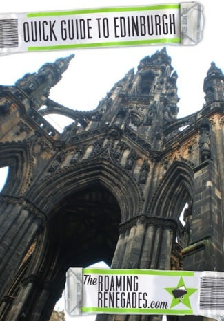 A quick guide to Edinburgh. The hogwarts-esque Scottish capital!