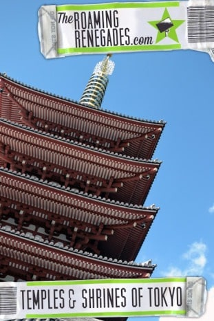 The beautiful and serine Temples and Shrines of Tokyo