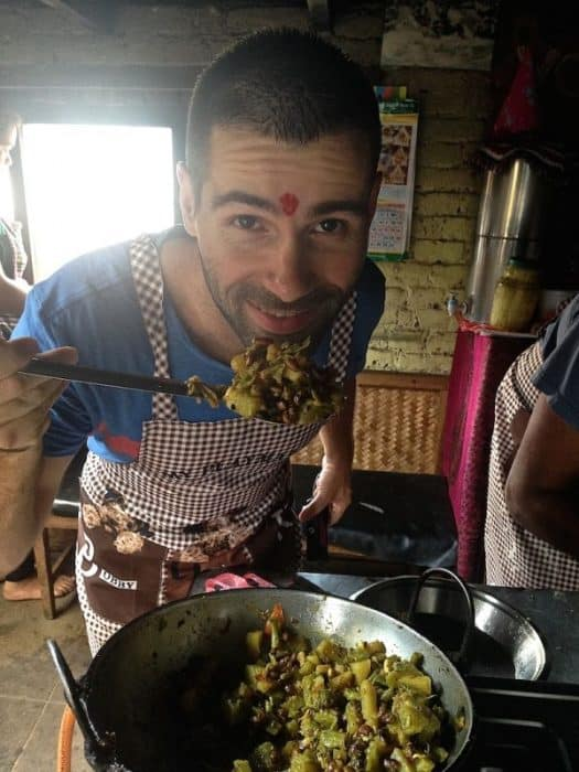 Best vegetarian dishes around the world the roaming renegades nomadic boys sebastien daal bhat nepal best vegetarian dishes around the world garlic soup forumfinder Choice Image