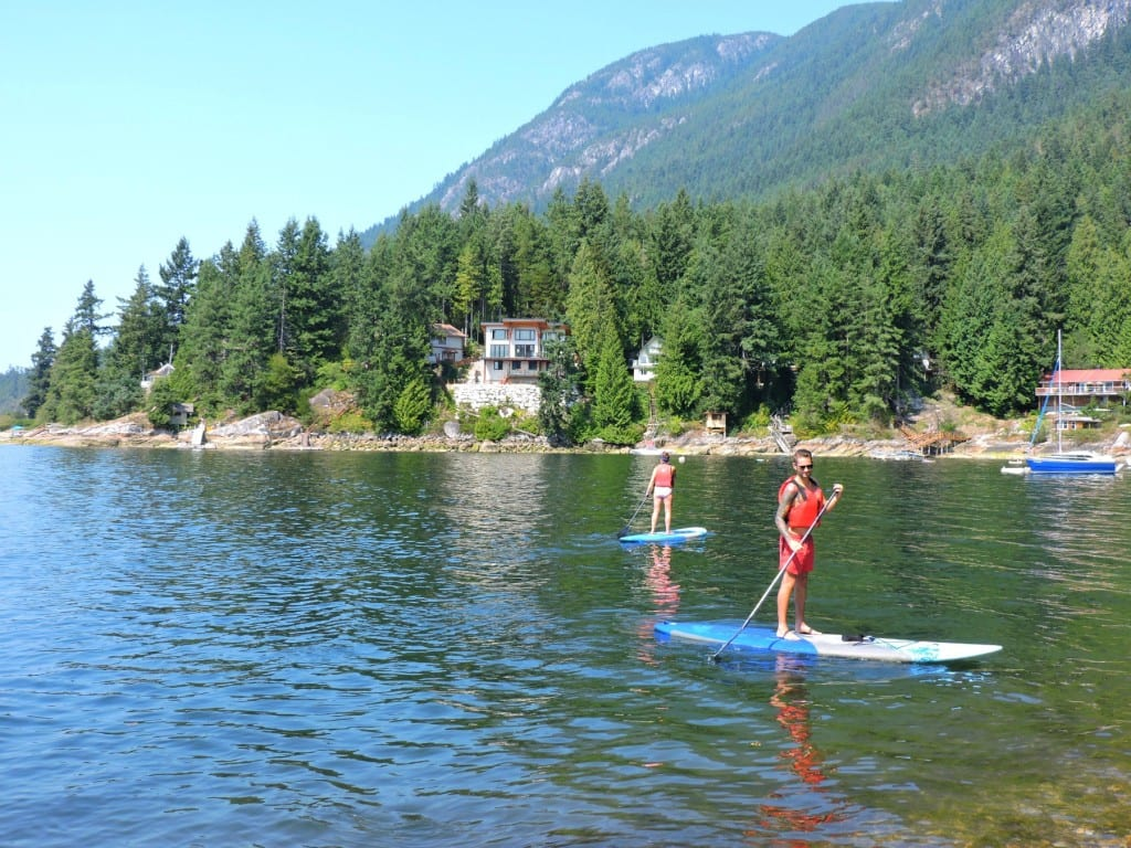 Two Scots Abroad Sechelt Inlet The Sunshine Coast Canada