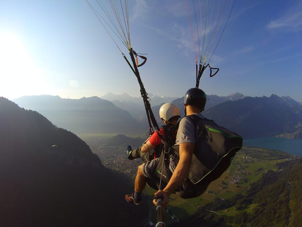 Paragliding, interlaken, switzerland, eiger, jungfrau, nic, paul, hilditch-short, Why humans have it wrong when it comes to time, money, retirement and Happiness! happy, retire, money, one life, millenials, change your life, dreams, early retirement, don't retire, pension, adventure, honesty, work, jobs, be your own boss, digital nomad, travel long term, remote working