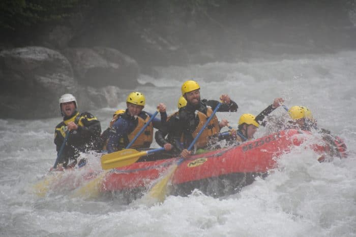 White water rafting, interlaken, switzerland, nic, paul, hilditch-short, Why humans have it wrong when it comes to time, money, retirement and Happiness! happy, retire, money, one life, millenials, change your life, dreams, early retirement, don't retire, pension, adventure, honesty, work, jobs, be your own boss, digital nomad, travel long term, remote working