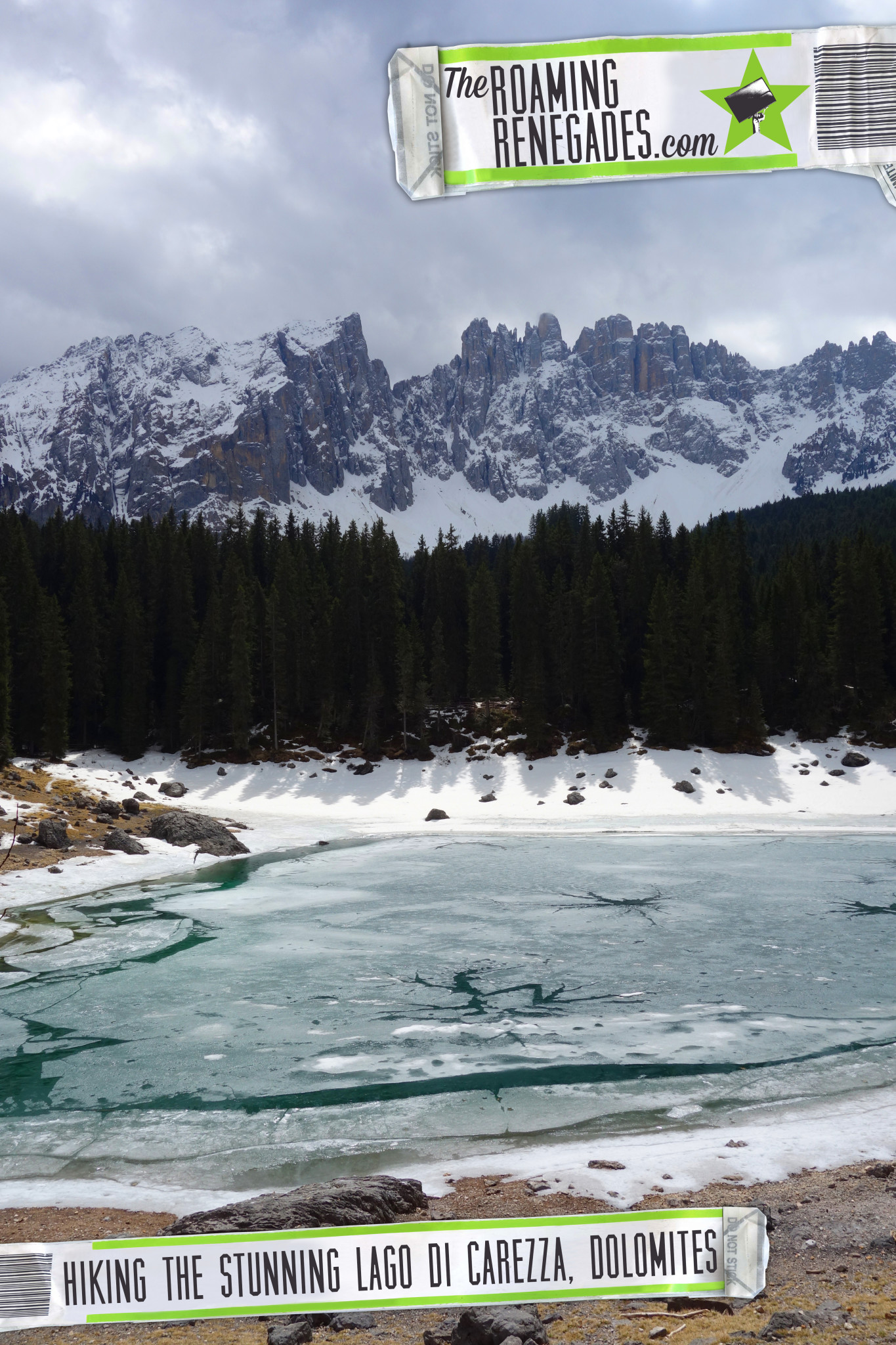Lago di Carezza - The amazing Dolomites! > https://theroamingrenegades.com/2016/04/lago-di-carezza-the-amazing-dolomites-italy.html