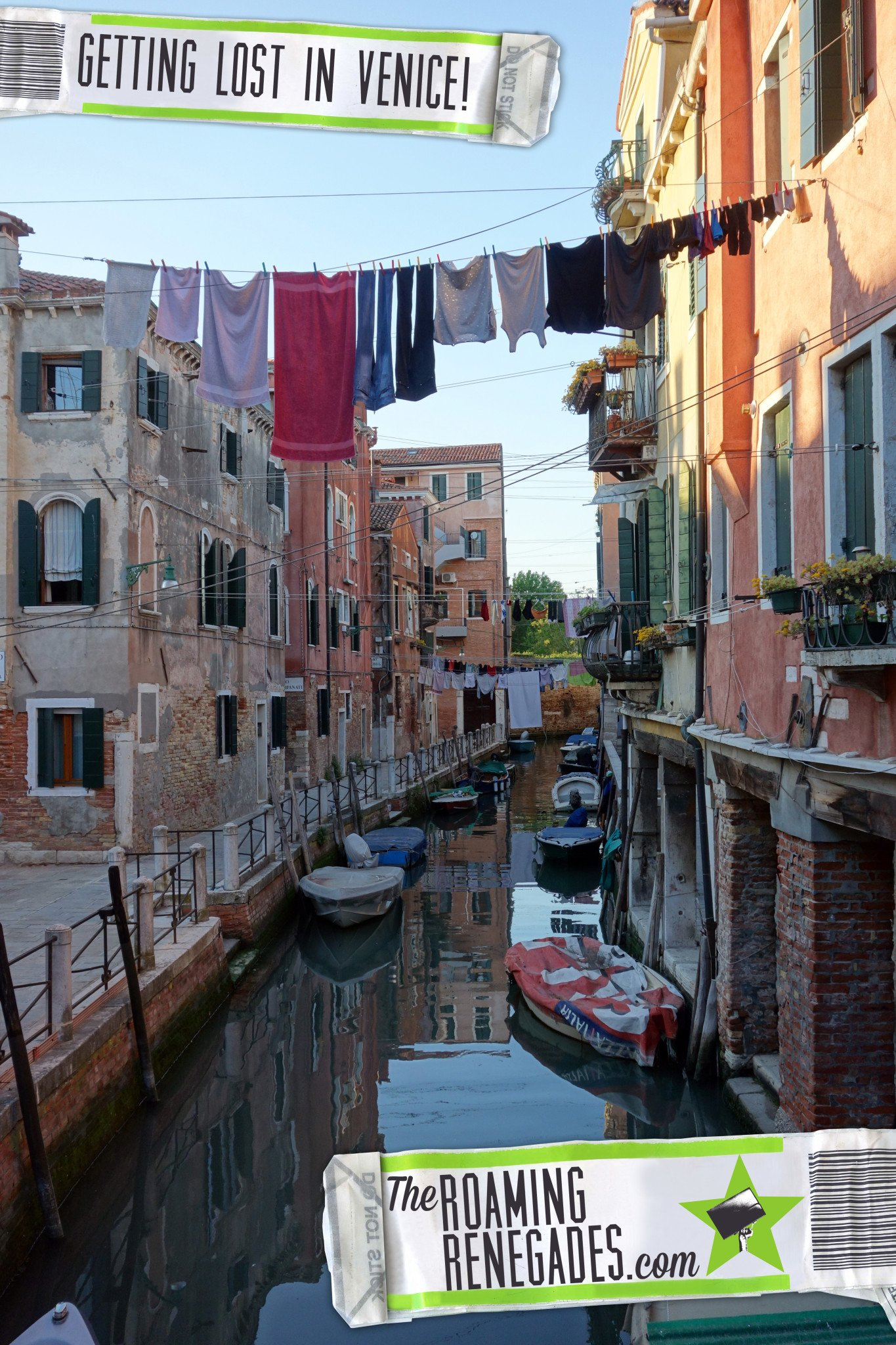 Getting lost on purpose in Venice and discovering Venetian life! https://theroamingrenegades.com/2016/05/getting-lost-on-purpose-in-venice-and-discovering-venetian-life.html