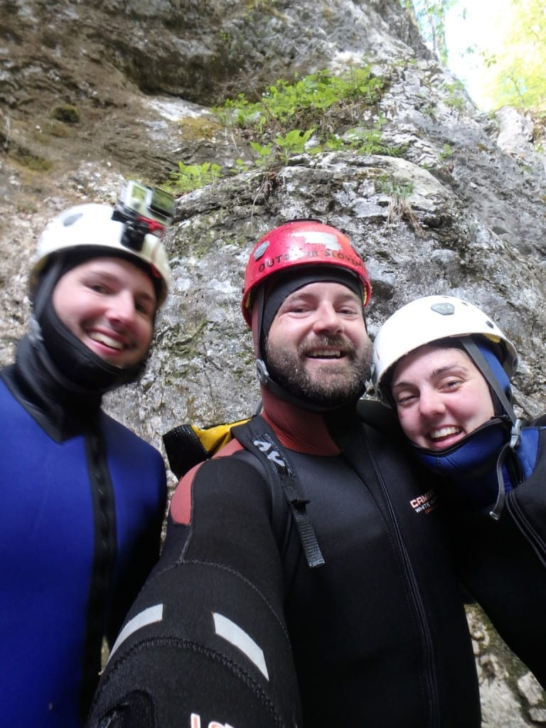Canyoning in the stunning Julian Alps, Slovenia! Lake bled, activities, adventures, things to do in bled, activities to do, companies, canyons, rivers, explore, action sports, water sports, fun, hard, easy, moderate, beginners, guided, tours, excursions,
