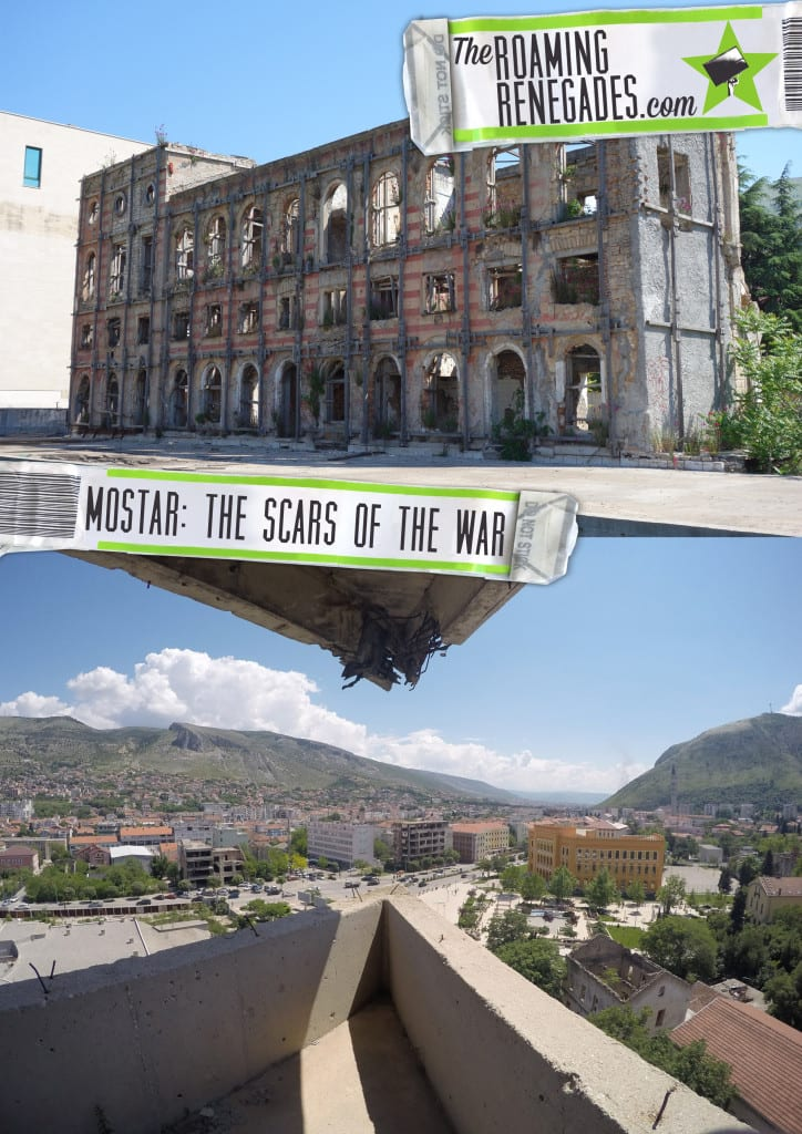 Mostar: Discovering the scars of the war that rocked Bosnia. The bombed out buildings that remain > https://theroamingrenegades.com/2016/06/mostar-discovering-scars-war-rocked-bosnia.html