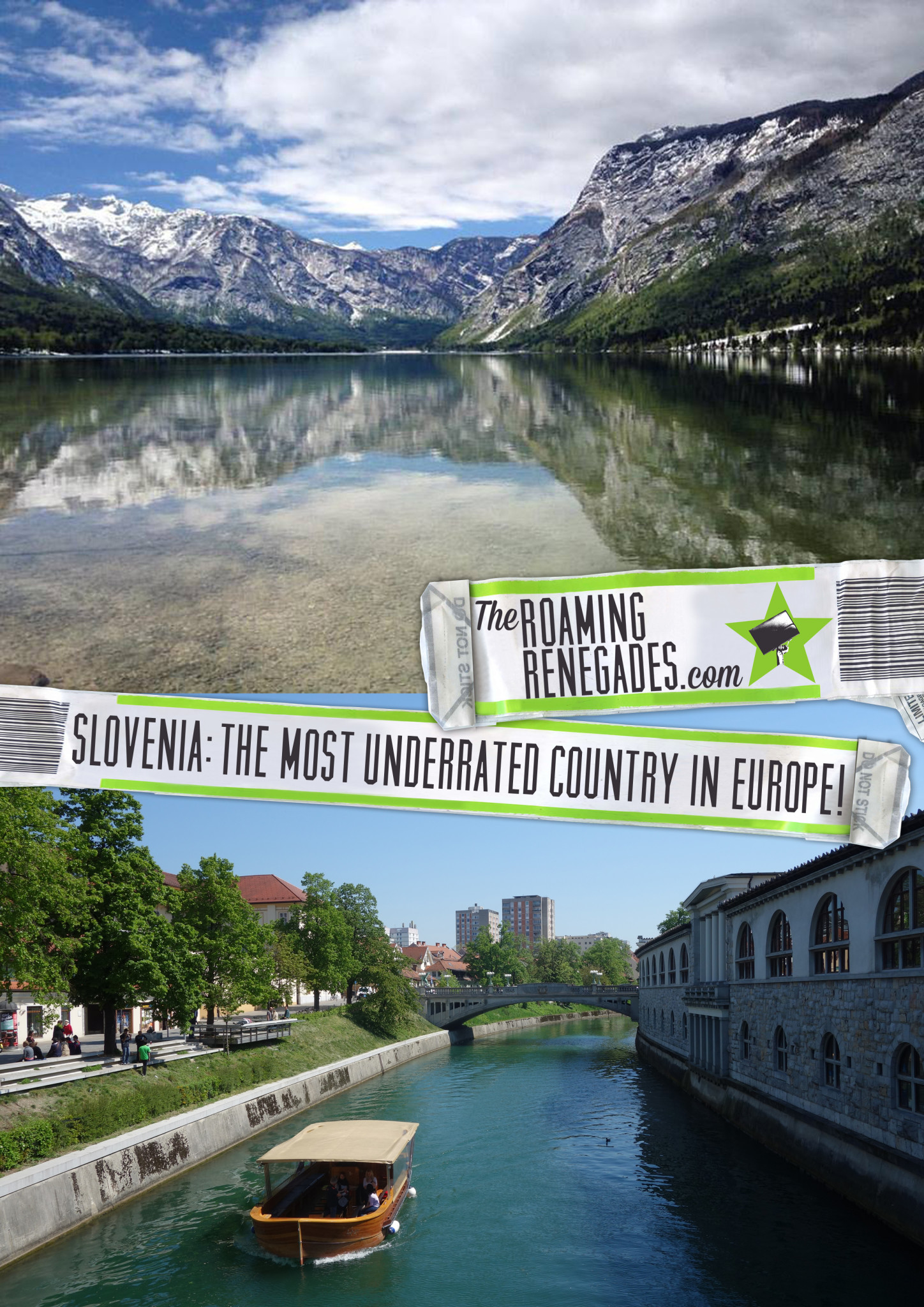 Why Slovenia is the most underrated country in Europe! things to do in Slovenia, Bled, Lake bled, Bohinj, ljubljana, canyoning, activities, adventure sports, beautiful, where to visit, piran, mountains, julian alps, triglav national park,