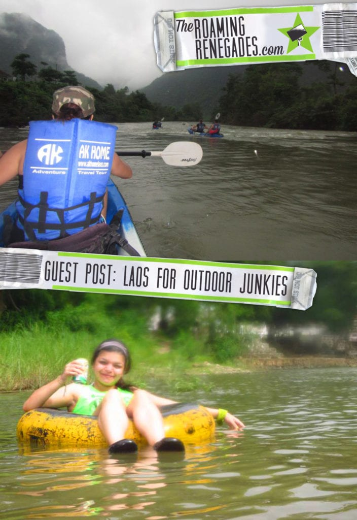 Guest post: Laos for Outdoor Junkies > https://theroamingrenegades.com/2016/06/guest-post-laos-for-outdoor-junkies.html