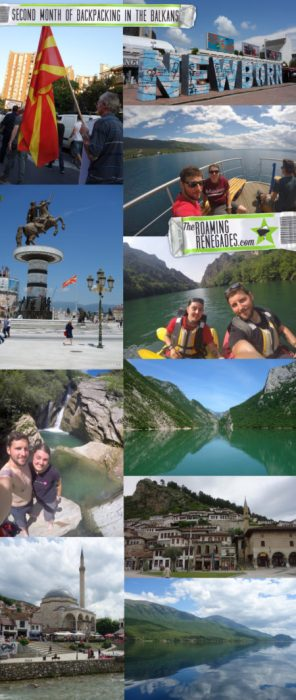 Monthly backpacking round up: Month 2 (kind of). Exploring more off the beaten path balkans!