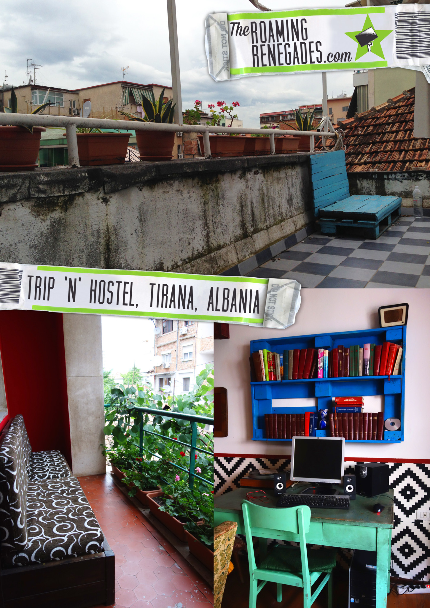 Hostel review: Trip 'n' Hostel, Tirana, Albania!