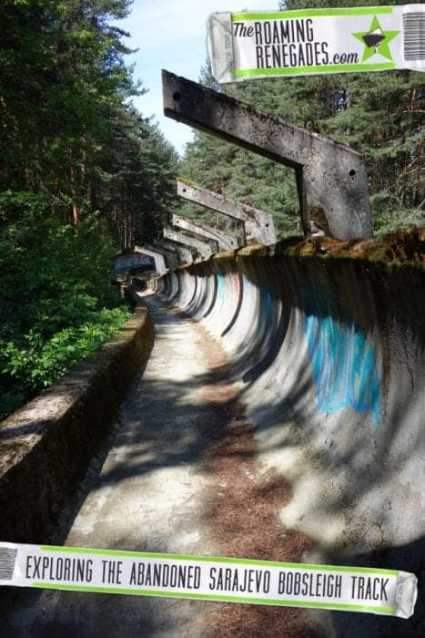 how to get to the Sarajevo Bobsled Track, Bosnia.