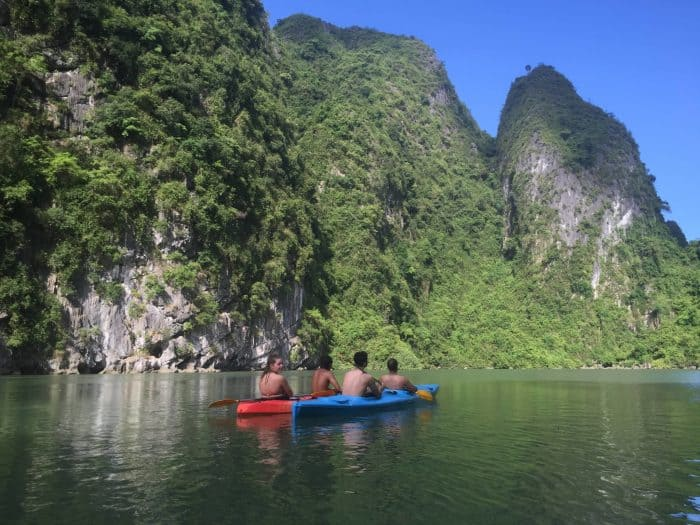 Kayaking Ha Long Bay Image-min, Canyoning in Da Lat, Snorkeling/Diving in Nha Trang, Motorbiking Song Tra Mountain in Da Nang, Exploring Caves in Phong Nha-Ke Bang, Trang An Grottoes and Hang Mua Stairs in Ninh Binh, Kayaking in Ha Long Bay, Ha Giang Motorbike Loop, Trekking in Sapa, Vietnam, adventure, explore, south east asia, GUEST POST: 26 Year old's Guide to Outdoor Activities and Adventures in Vietnam