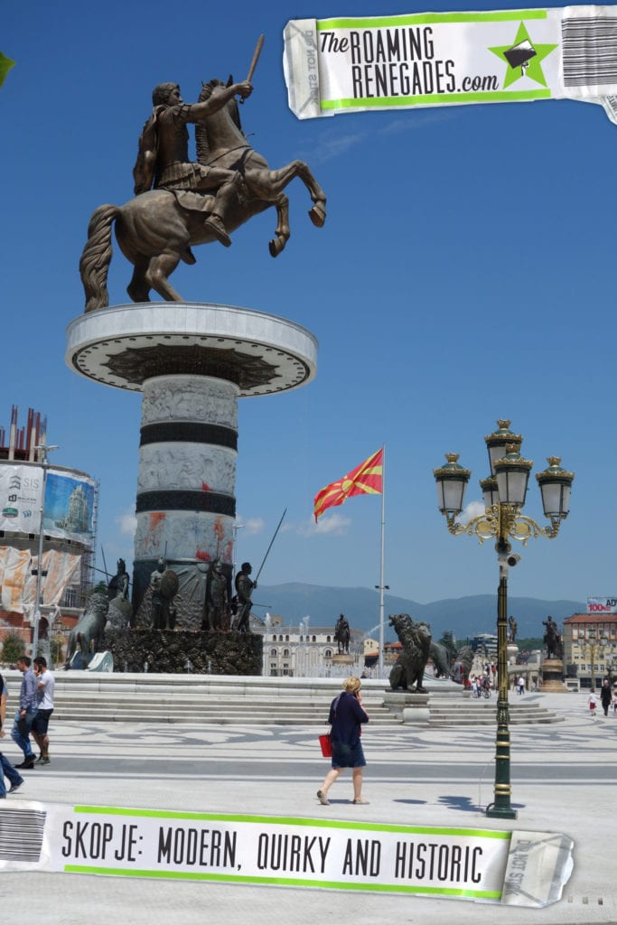A guide to Skopje: The modern, quirky & politically charged Macedonia capital with hidden history > https://theroamingrenegades.com/2016/08/a-guide-to-skopje-the-modern-quirky-politically-charged-macedonia-capital-with-hidden-history.html