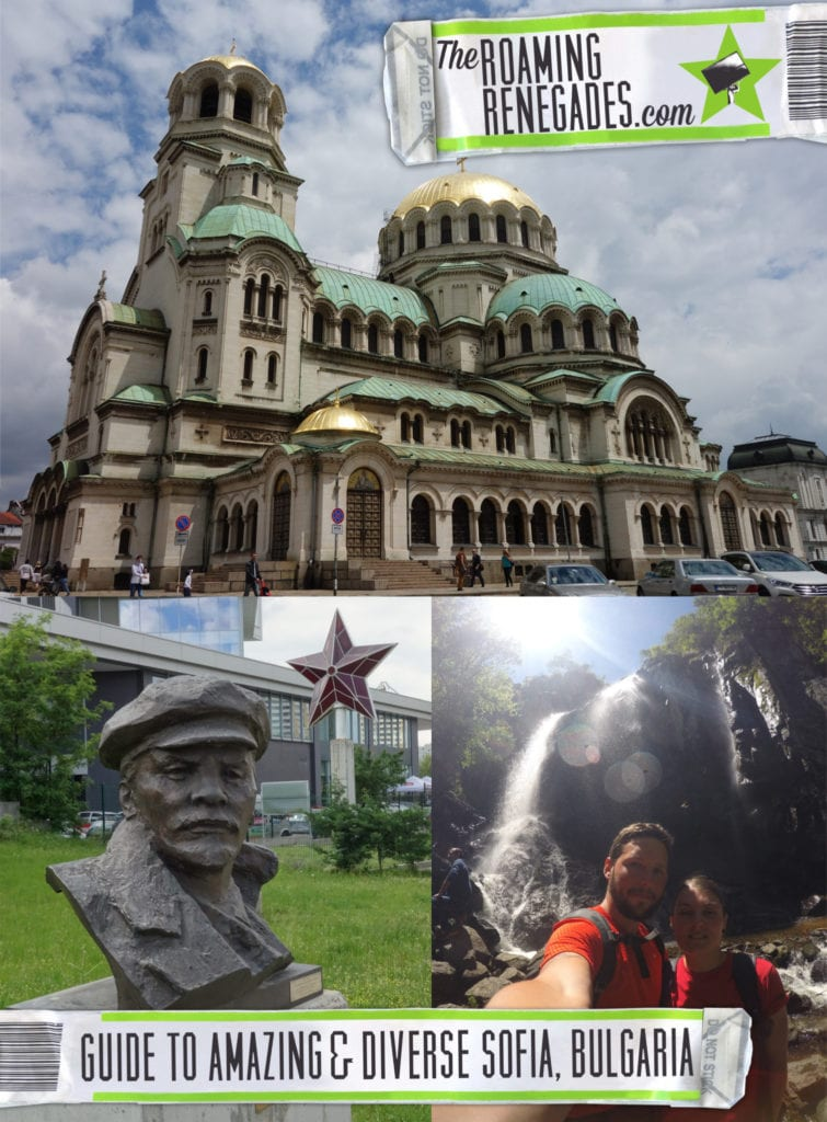 A guide to Sofia, the diverse city we felt so at home in & the gateway to our Bulgarian adventures!, boyana waterfall, communist, soviet, socialist, lenin, red star, bulgarian communist party, history, the largo, Bulgarian Communist Party Headquarters, Monument to the Soviet Army, Museum of Socialist Art, Alexander Nevsky Church, cathedral, Saint Nikolas, Sveti Georgi, St. Sofia, Vitosha Boulevard, mountain, mount, Ivan Vazov National Theatre, City Garden, Georgi Dimitrov, Buzludzha, rila monastery, shipka, Moreto and Cafetto, pop bogomil,