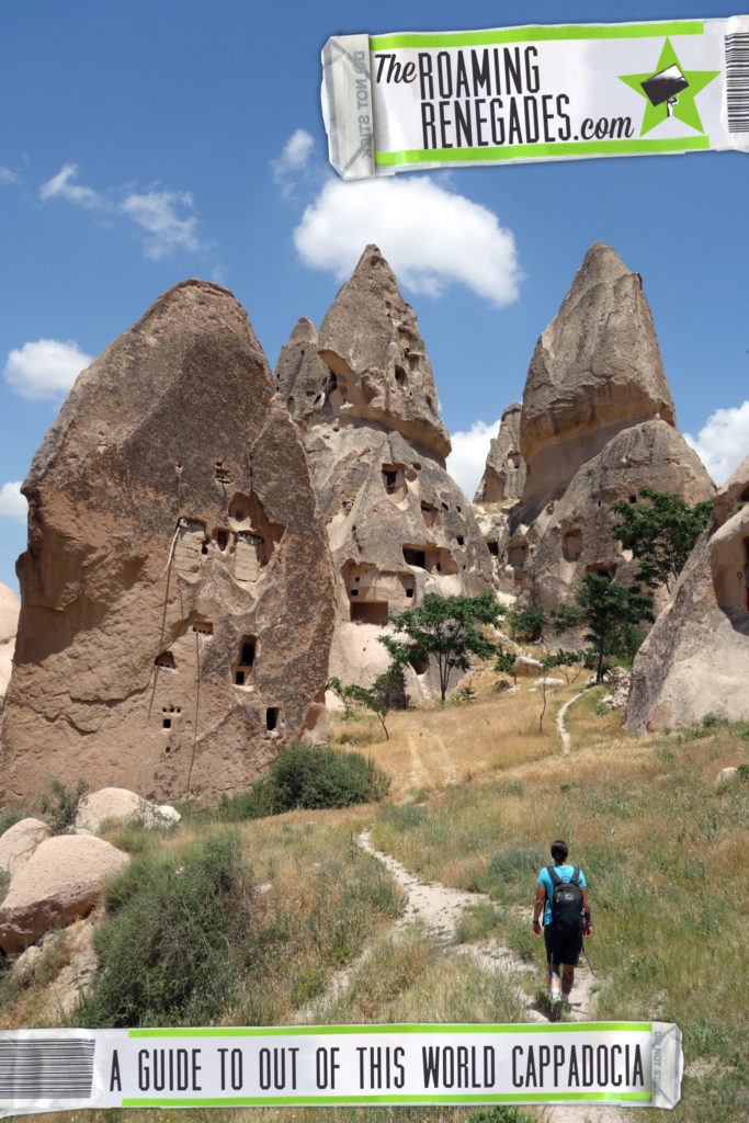 A guide to Cappadocia: The magical, dream like, out of this world landscape that we flew above > https://theroamingrenegades.com/2016/10/guide-cappadocia-dream-landscape.html